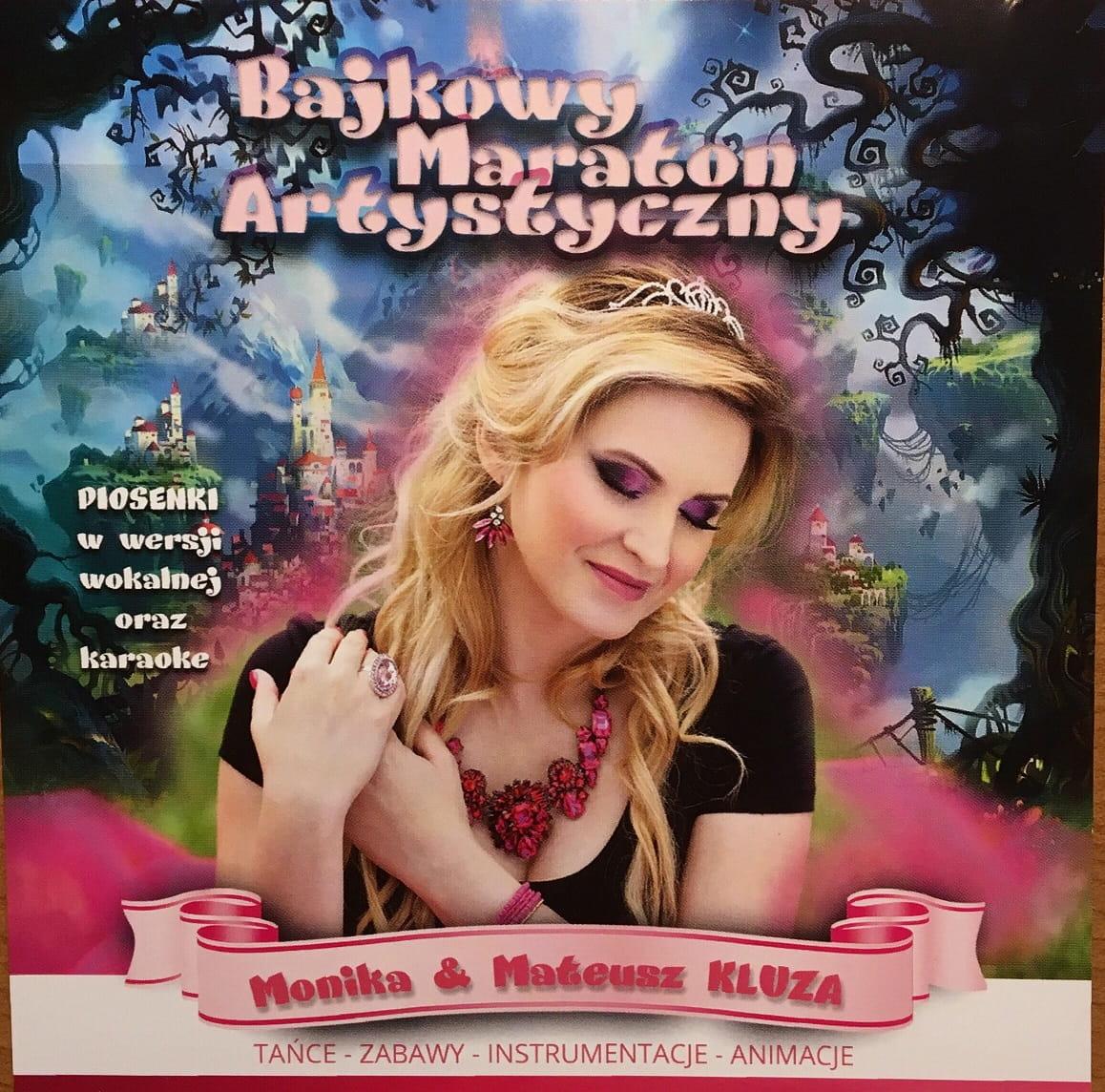 Płyta CD Bajkowy maraton artystyczny