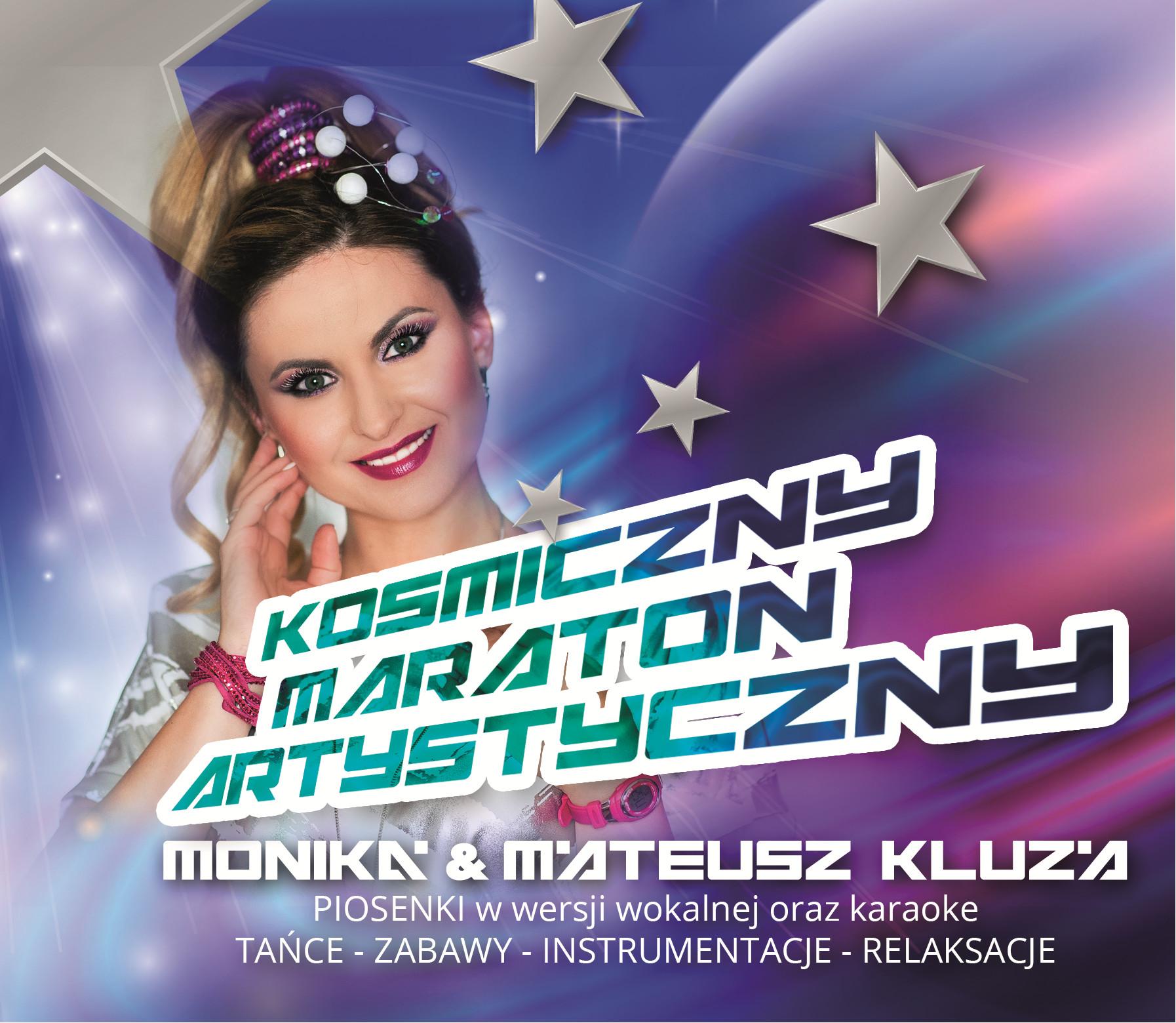 Płyta CD Kosmiczny maraton artystyczny