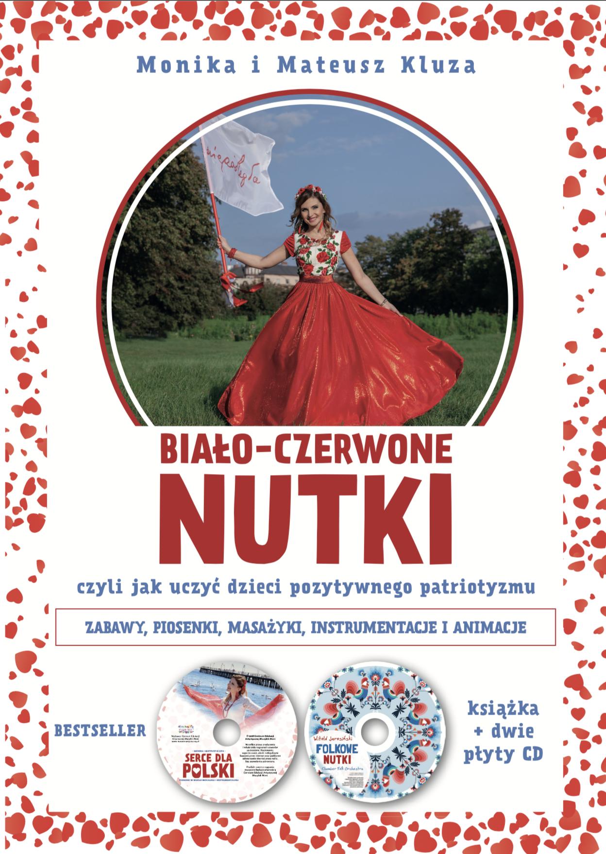 Biało-czerwone Nutki (książka + 2 x CD)